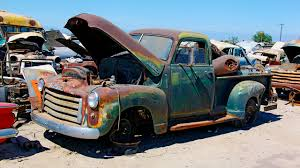 Fixing Up Old Ford Truck - junkyard rescue saving a 1950 gmc truck roadkill ep 31 youtube