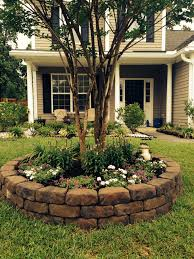 Landscape Flower Bed Ideas by Front Yard Landscape Project Good Idea To Add Some Pizzazz