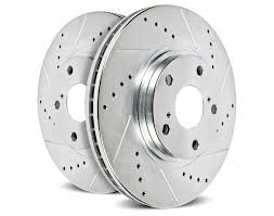 lexus rx300 brake pads and rotors power stop cross drilled and slotted brake rotors