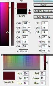 what is the hsv hue saturation value color model