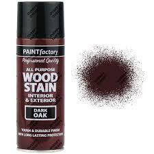 brown paint x1 400ml all purpose dark oak satin spray paint dark brown wood