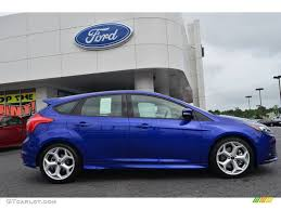 ford focus st performance blue paint code performance blue ford