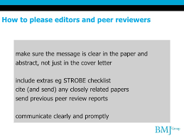 how to get your research published in the bmj