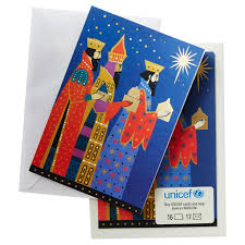 unicef three cards box of 16 boxed cards hallmark
