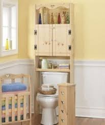 Bathroom Toilet Cabinet Pine Bathroom Furniture Foter