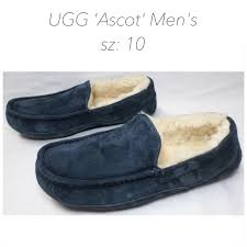 ugg ascot slippers on sale 50 ugg other ugg ascot blue s slippers sz 10 from