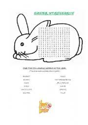 english teaching worksheets easter wordsearch