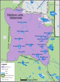 Green Lake Wisconsin Map by Chequamegon Nicolet National Forest Recreation