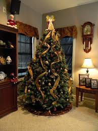 christmas decorate christmas trees ideas decorated artificial