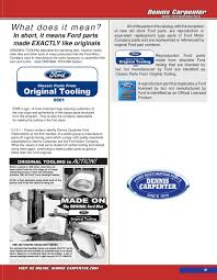 Classic Ford Truck Replacement Parts - 1967 79 ford truck parts 2012 by dennis carpenter ford and cushman