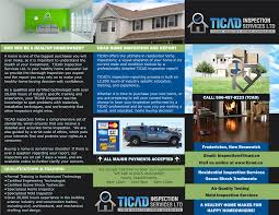 Canadian Home Inspection Checklist by Ticad Inspection Services Ltd Michael Gallant At Cet