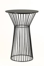 Black Bar Table Black Wire Bar Table Modern Furniture Brickell Collection