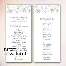 Download Wedding Program Template 20 Best Diy Wedding Program Templates Instant Download Images On