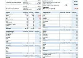 Expense Report Excel Template Spreadsheet Monthly Expenses Expense Report Form