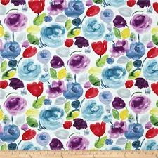 Home Decor Shops Adelaide Dear Stella Adelaide Floral Wash Multi Discount Designer Fabric
