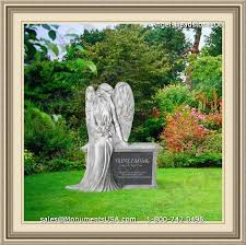 how much does a headstone cost large resin garden statues
