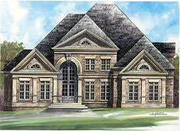 luxury home plans for narrow lots narrow lot luxury home plans home plan