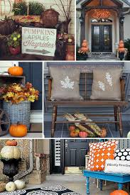 Home Decorate Ideas Best 10 Fall Front Porches Ideas On Pinterest Fall Porch