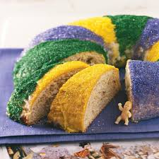 mardi gras cake baby traditional new orleans king cake recipe taste of home