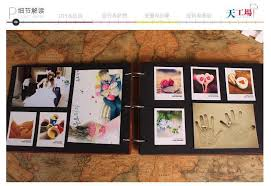 diy scrapbook album inch new wedding photo album family memory scrapbooking album diy