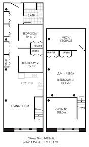 Warehouse Loft Floor Plans Tilsner Lofts Studio 3 Bedroom Loft Apartments In St Paul Mn