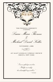 wedding program cover wedding program cover templates invitation template