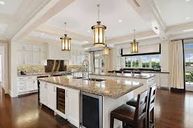 cost kitchen island 27 luxury kitchens that cost more than 100 000
