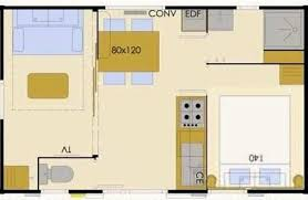 mobil home 1 chambre budget mobile home 1 bedroom br 2 4 peoples cing pornic