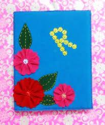 making felt book cover u2022 art platter