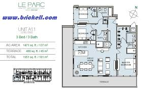 Icon Brickell Floor Plans Le Parc At Brickell Brickell Com