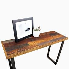 buy a hand made patchwork reclaimed timber console table made to