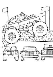 monster truck coloring u2013 corresponsables