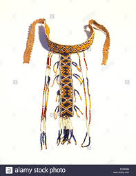 western apache u0027s puberty ceremony t shaped beaded necklace