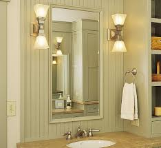 bathroom vanity mirror and light ideas lighting ideas 2 lights nickel wall sconces beside bathroom
