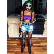 halloween makeup female joker halloween pinterest female