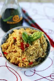 cuisine milet hulled millet with bell peppers not only for canaries