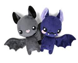 floppy bat stuffed animal toy sewing pattern