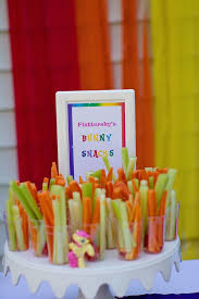 my pony birthday ideas my pony birthday party food idea fluttershy s bunny
