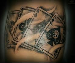 13 best playing cards tattoos images on pinterest playing card