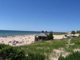 dnr lake michigan beach and beach house
