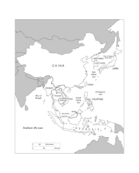 Blank China Map by Maps Of Asia Page 2