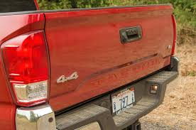 mitsubishi mini truck bed size 10 most important changes to the 2016 toyota tacoma motor trend