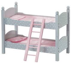 Dolls Bunk Beds Uk Buy S World Polka Dot Doll Bunk Bed At Argos