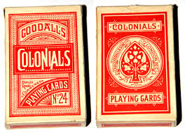 chas goodall and 1820 1922 the world of cards