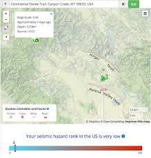 Map Of Helena Montana by Magnitude 4 3 Shock Strikes On 30 Jan 2016 Near Helena Montana