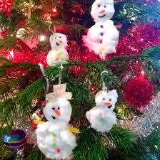 christmas toddler crafts snowman decorations becoming a stay