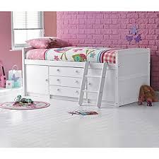 buy tory single mid sleeper bed frame white at argos co uk