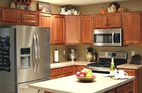decorating ideas for kitchen cabinet tops kitchen cabinet top decor modest design cabinets ideas hittask site