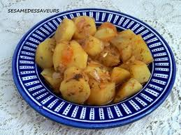 patate douce cuisine patate douce à la marocaine le sésame des saveurs
