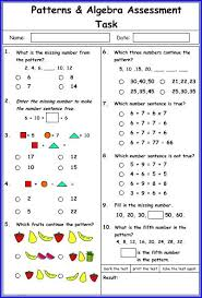 algebra patterns worksheets free worksheets library download and